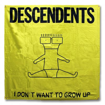 Descendents - I Don't Want To Grow Up | Poster Flag