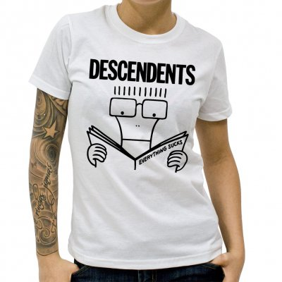 Descendents - Everything Sucks | Fitted Girl T-Shirt