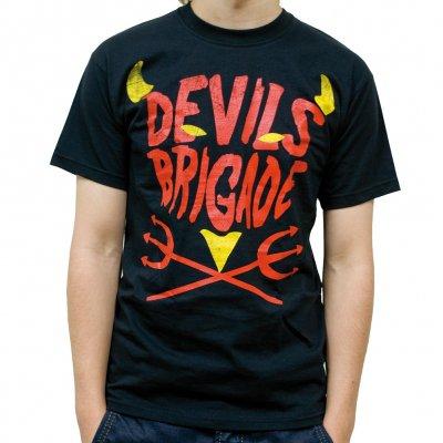 Devils Brigade - Devils Text | T-Shirt