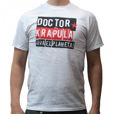 doctor-krapula - Viva El Planeta White | T-Shirt