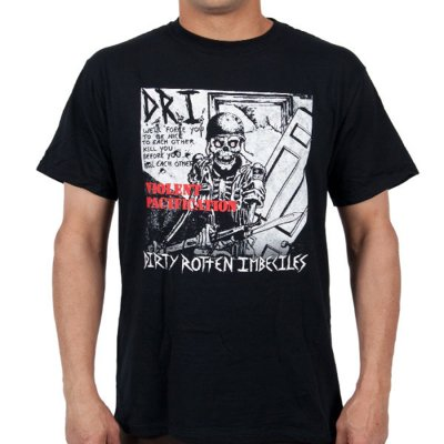dri - Violent Pacification Black | T-Shirt