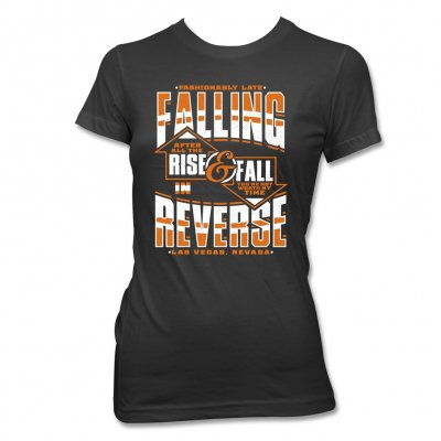 Falling In Reverse - Rise & Fall | Fitted Girl T-Shirt