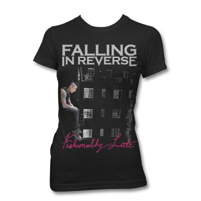 Falling In Reverse - Fashionably Late | Girl Fitted T-Shirt