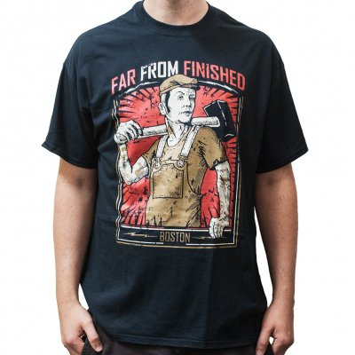 far-from-finished - Worker | T-Shirt