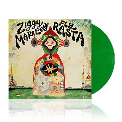 ziggy-marley - Fly Rasta | Green Vinyl