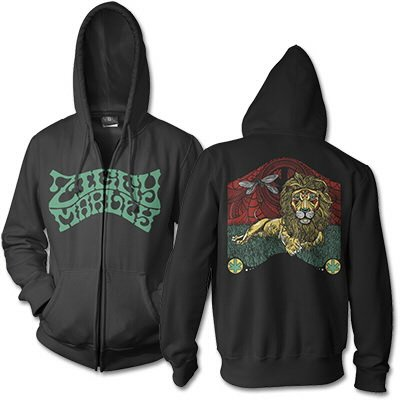 Fly Rasta Lion | Zip-Hood