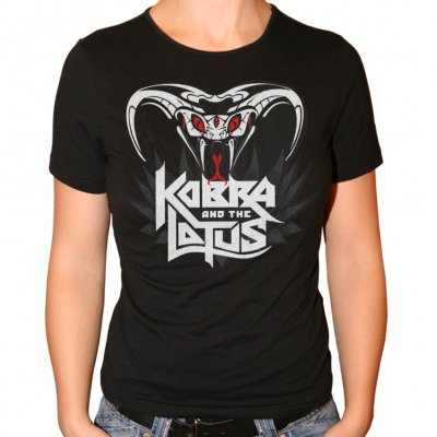 kobra-and-the-lotus - Plain Kobra | Fitted Girl T-Shirt