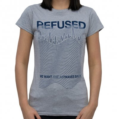 Refused - Airwaves | Girl Fitted T-Shirt