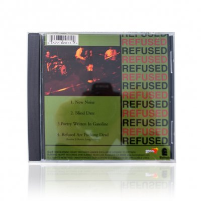 Refused - The New Noise Theology E.P. | CD