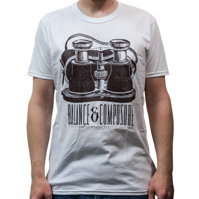 Balance And Composure - Binoculars | T-Shirt