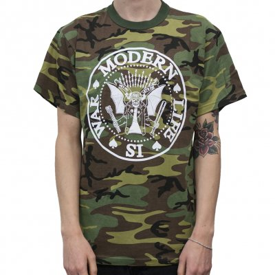 Modern Life Is War - Dead Ramones Camou | T-Shirt
