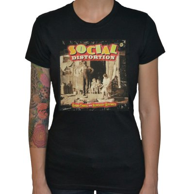 Social Distortion - Album Art | Girl Fitted T-Shirt