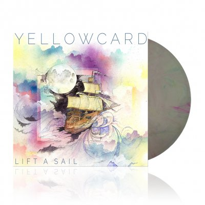 Yellowcard - Lift A Sail | Multi Color Swirl Vinyl