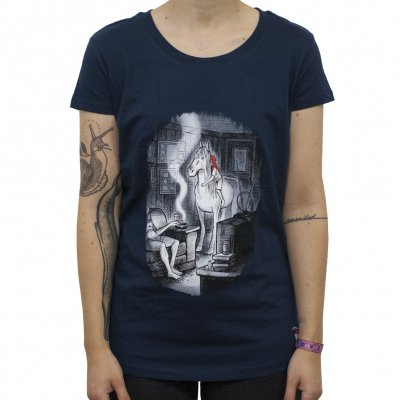neko-case - Horselight | Girl Fitted T-Shirt