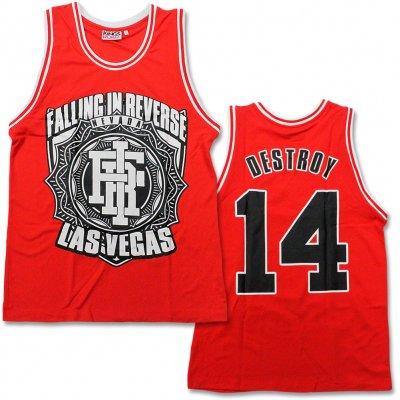 Falling In Reverse - Destroy '14 | Basketball Jersey