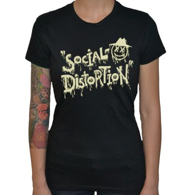 Social Distortion - XD Eye | Girl Fitted T-Shirt