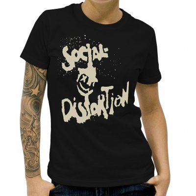 Social Distortion - XD Eye Classic | Girl Fitted T-Shirt
