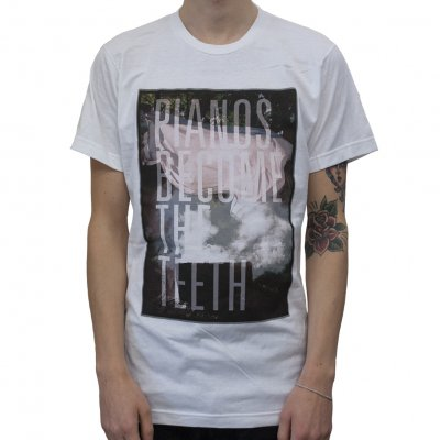 Pianos Become The Teeth - Big Cover White | T-Shirt