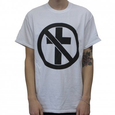 bad-religion - Monochrome Crossbuster White | T-Shirt