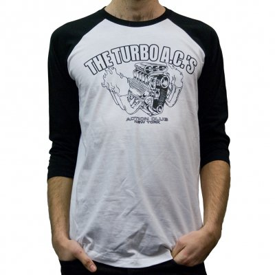The Turbo A.C.'s - Engine | Baseball Longsleeve