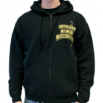 The Ghost Of A Thousand - Eagle   Zip-Hood