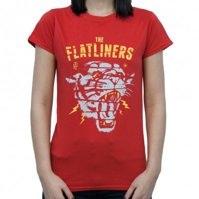The Flatliners - Panterror | Girl Fitted T-Shirt