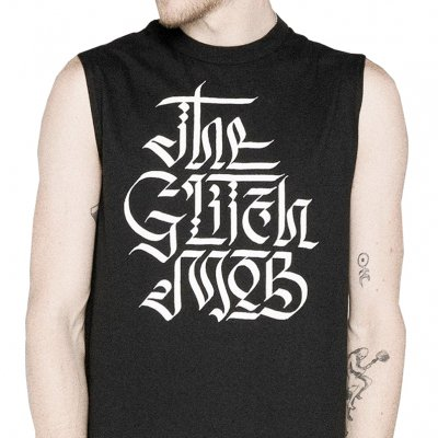The Glitch Mob - Calligraphy | Sleeveless Shirt