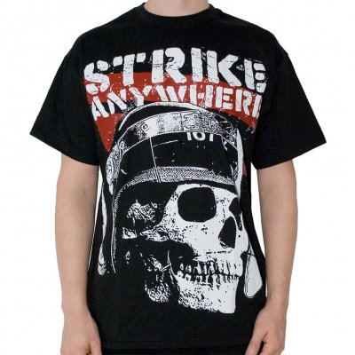 Strike Anywhere - Skull | T-Shirt