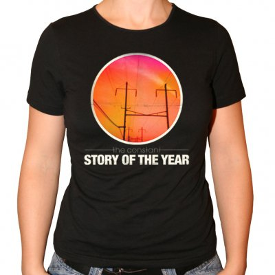Story of the Year - The Constant | Fitted Girl T-Shirt