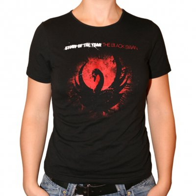 story-of-the-year - The Black Swan | Fitted Girl T-Shirt