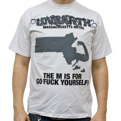 Unearth - The M Is For... | White T-shirt
