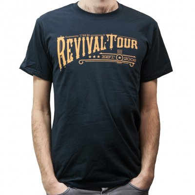 revival-tour - Text | T-Shirt