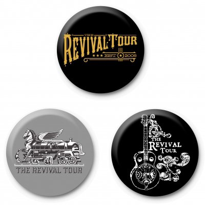 Revival Tour Buttons Package| Buttons