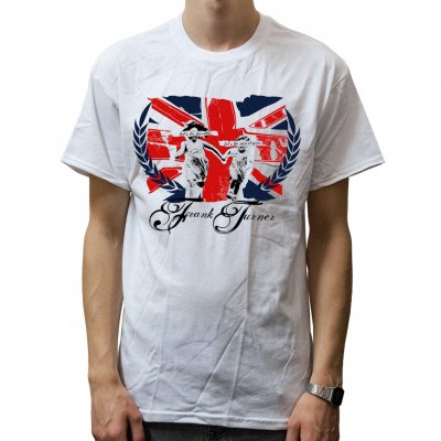 Frank Turner - Martyr White | T-Shirt
