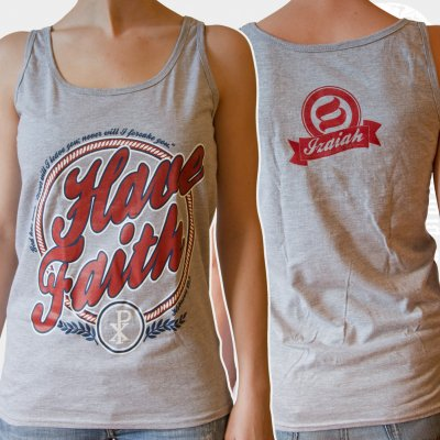 izaiah - Have Faith | Girl Tank Top