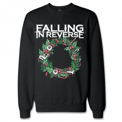Falling In Reverse - Christmas Wreath | Sweatshirt