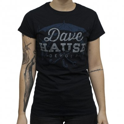 Dave Hause - Rain | Fitted Girl T-Shirt