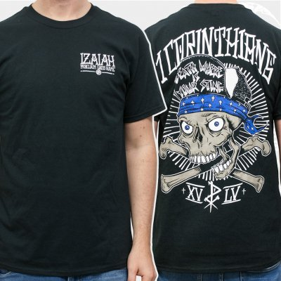 izaiah - Bandana Skull | T-Shirt