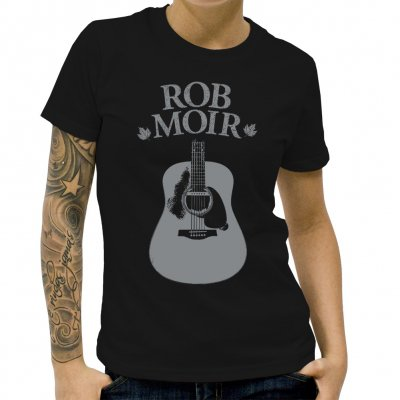 Rob Moir - Guitar | Fitted Girl T-Shirt