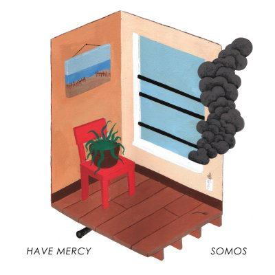 Have Mercy/Somos - Split | Grey/Red Marble 7 Inch