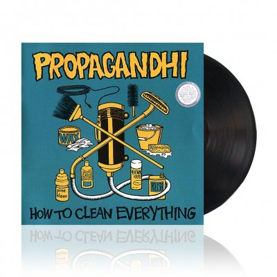 propagandhi - How to Clean Everything | Remastered Black Vinyl