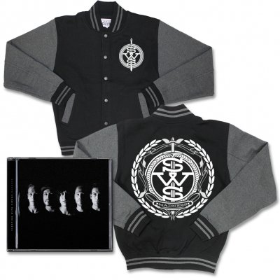 sleeping-with-sirens - Madness/Crest Logo | CD+College Jacket