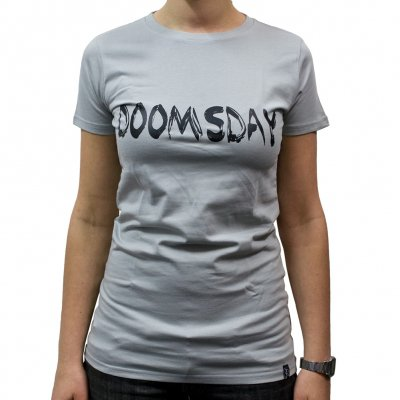 Veglay - Doomsday Gray | Girls Fitted T-Shirt