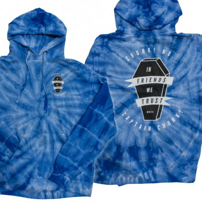 Chunk No Captain Chunk - Coffin | Tie Dye Hoodie