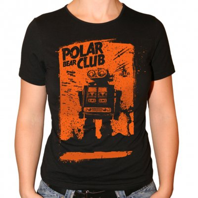 Polar Bear Club - Robot | Fitted Girl T-Shirt