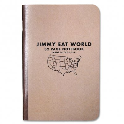 Jimmy Eat World - Logo | Pocket Notebook