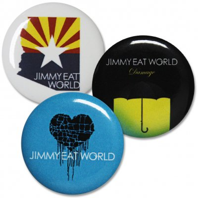 Jimmy Eat World - Arizona | Button Pack