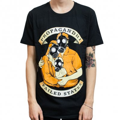 propagandhi - Family Gas Mask | T-Shirt