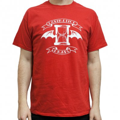 The Lawrence Arms - Flappybanner Red | T-Shirt