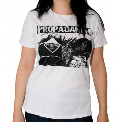 Propagandhi - Technocrazy | Girl Fitted T-Shirt